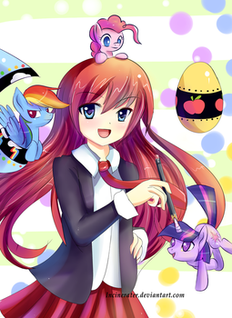 Shugo Chara Lauren Faust by Incinerater