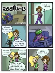 Roommates: Al's Absence by Littlenlost