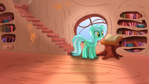 Lyra's Day At The Library by ikillyou121