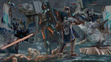 Vader captinrex fight for the empire by willartmaster