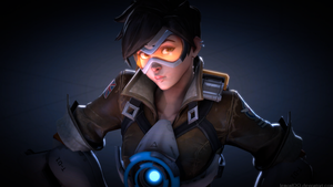 Tracer - Overwatch (Source Filmmaker / 4k by lemon100