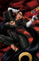 Commission: Bayonetta by 7caco