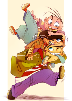 Piggyback ride by xMits