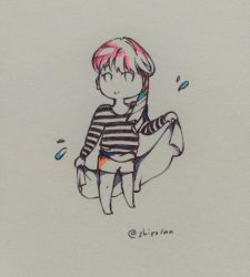 yoongi on a fine summer's day by EunniePop