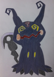 Mimikyu the Heartless by Ch40sKnight