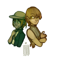R: Anath and Darris by PizzaPotatoNBacon