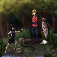 A Family Outing [CM] by deidaraart5
