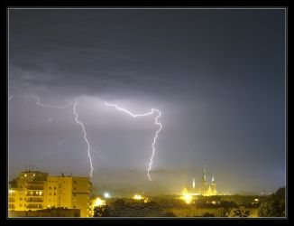 2011.07.14 Lightning :lodz: by Atmospheric-Bloo