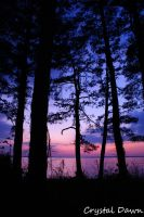 James River Sunset 1 by poetcrystaldawn