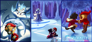 Illustration Project - The Snow Queen by KicsterAsh