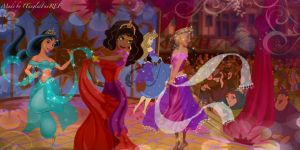 The Gypsy Dancing by x12Rapunzelx