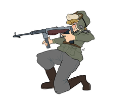 Shooty Shoot (a commission) by coffeepupp