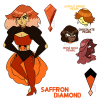 Saffron Diamond 1.0 by Gnome-Queen