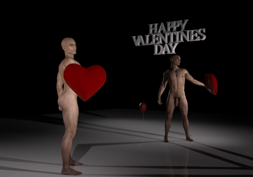 HAPPY VALENTINES DAY 2 by Doing-it-in-3d