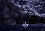 In the Storm by VioletRaine