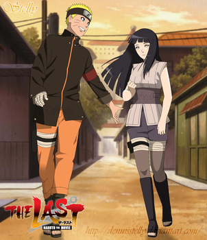 Naruto e Hinata - the Last by DennisStelly