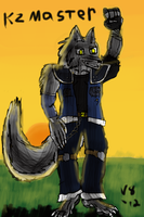 Art Trade with KZMaster by V8Arwing67