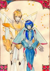 the king and the queen of Vos by Loonydoll9