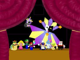 Dimentio's Doll Show by starhavenstudios
