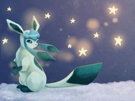 Glaceon by cottondragon
