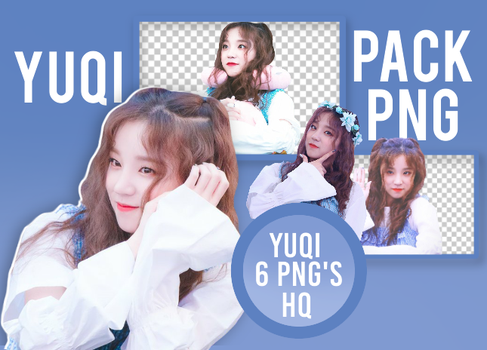PACK PNG: YUQI - (G)-IDLE by Vanula5678