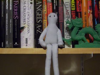 Marble Hornets doll by Agent-Sarah