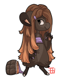 #1168 Nomnom BB - Dark Chocolate by griffsnuff