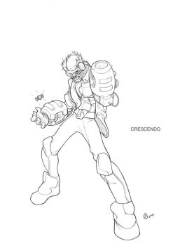 crescendo_old_bug_sketch by Xeromander