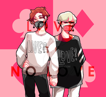 [S.O.S] - [Love or No Love] by nhiwi