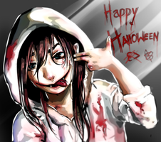 Happy halloween by xXReiiXx