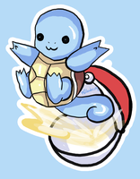 I choose you! Squirtle! by MadWulfie