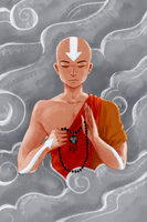 avatar aang by katcrunch