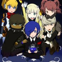 Persona Q by TheRiceChrispy