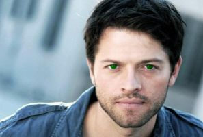 Misha Collins With Green Eyes by Busted-Love