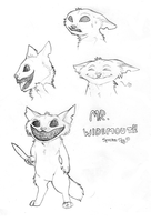 Mr. Widemouth Sketches by Spectra-Sky
