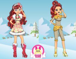 Ever After High Epic Winter Rosabella Beauty by heglys