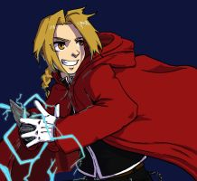 Ed Elric by yamiswift