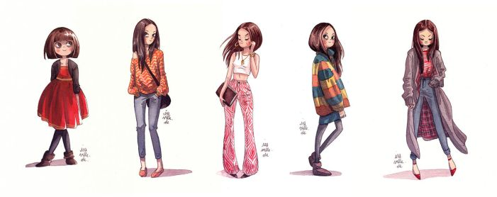 Fashion Girls by Iraville