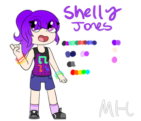 Shelly Redesign [2018] by OctoWeeb