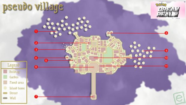Dream Realm: Pseudo Village map by e4animation