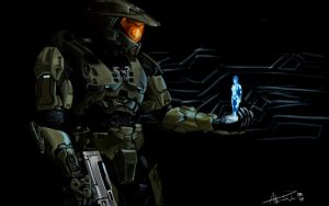 Master Chief by MrJellyfish