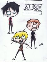 Muse Drawing by ThePwoperZimFan