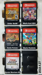 NS cartridge collection 2018.04.27 by Zack113