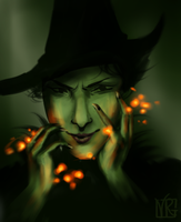 Elphaba: Wicked Witch of the West by indigoburst