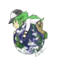 N on top of the world by Risike