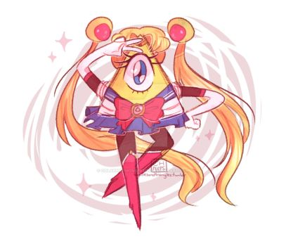 Magical Inter-dimensional Demon Girl BILL by ColorHarmonypeeps