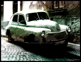 Vintage Classic Car by Spe4un