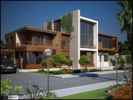 Villa by Amr-Maged