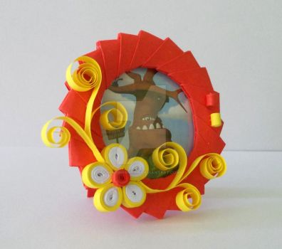 3D Origami Picture Frame 2 by designermetin