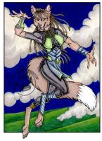 StormBringer Wolf by lady-cybercat